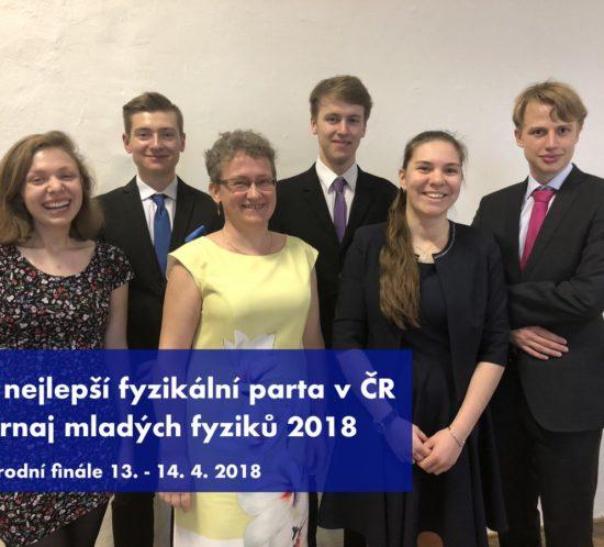 Národní finále a4.nejlepší fyzikální tým ČR