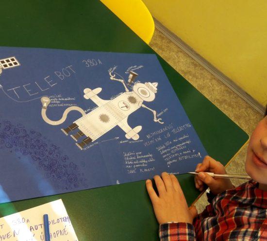 Studenti primy se probojovali do semifinále výtvarné soutěže Veselý stroj