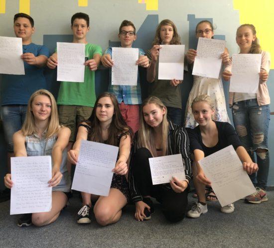Kvartáni si dopisují německy sItaly – německý jazyk vpraxi