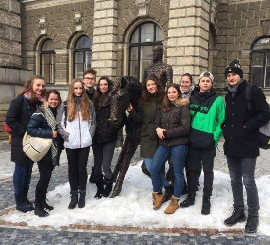 Výměnný pobyt studentů zMeridiaan College vholandském Amersfoortu.