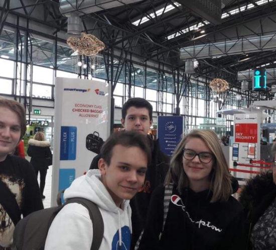 První dny ve Finsku smezinárodním projektem Erasmus+