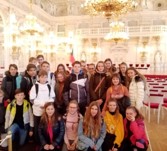 Tercie akvarta vreprezentačních prostorách Pražského hradu