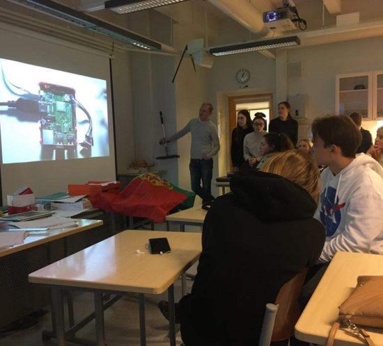 Finsko – 6.den – test svých meteorologických stanic